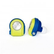 Auricolari Bluetooth NILOX DROPS BLUE AND YELLOW