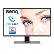 "Monitor VA, BENQ 31.5"", EW3270U, 4ms, 20Mln:1, HDMI/DP, Speakers, UHD 4K (9H.LGVLA.TSE)"