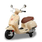 Jamara Ride-on Vespa GTS 125 beige 12V