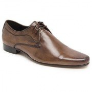 Hats Off Accessories Genuine Leather Tan Derby Shoes