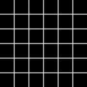Paradyż Albir nero mozaika k4x4 29,8x29,8
