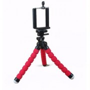Techvik Flexible Octopus Style Tripod For Mobile Phone Camera Dslr Smartphones With Universal Mobile Monopod Holder