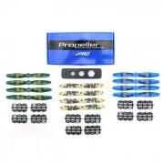 JJRC JJPRO-6040BN Kit de helices de dos palas de camuflaje - Colormix