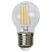 Lampada LED Globo E27 Bianco Caldo 3.2W Filamento Classe A++