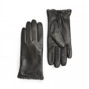Handskmakaren Acerra handskar i skinn, dam, Svart, 8