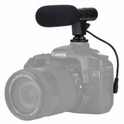 PULUZ 3.5mm Audio Stereo Recoding Professional Interview Microphone for DSLR & DV Camcorder