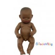 Újszülött játékbaba afrikai fiú