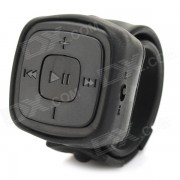 Portatil deportivo reloj estilo reproductor de mp3 w / tf / 3.5mm / mini USB - negro