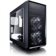Carcasa Fractal Design Focus Mini G Black Window, Mini Tower, fara sursa, Negru