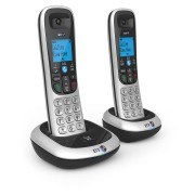 BT 2200 Cordless Twin Telephones - Silver