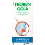 Bgp Products Srl(Gruppo Mylan) Froben Gola 0,25% Colluttorio Flurbiprofene 160ml