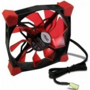 Ventilator Inter-Tech CobaNitrox Extended N-120-G 120mm Red LED