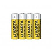 Varta 2006 - 4 buc Baterie zinc carbon SUPERLIFE AA 1,5V