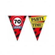 Merkloos Verjaardagsvlaggetjes 70 jaar 10m