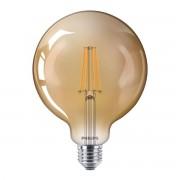 Philips LED E27 G120 Filament lichtbron 8W Dimbaar