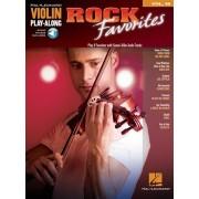 Violin Play-Along Volume 49. Rock Favorites, Paperback/***