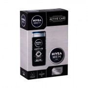 Nivea Men Active Clean confezione regalo doccia gel 250 ml + crema universale Men Creme 75 ml