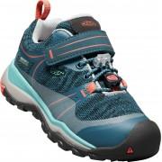 Keen Terradorra Low WP Sneaker, Aqua Sea/Coral 30