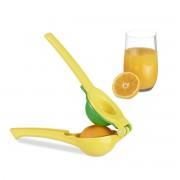 relaxdays - handmatige citruspers - stabiele pers voor citroenen en limoenen