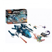 Planet of Toys 303 Pcs Space Building Blocks Set For Kids Children