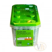 Betongskruv karm Essbox Indu-Prog Essve (7.5 x 92 mm - 50st)