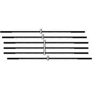 Proxxon Laubsägeblätter fein 34 Zahn/25 mm, für Holz, Inhalt 12 Stück