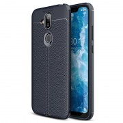 Slim-Fit Premium Nokia 8.1 TPU Case - Blue