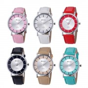 dropshipping Geneva Ladies Women Girl Unisex Stainless Steel Quartz WristWatches Female Clock Drop shipping