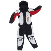 Held Slade Jumpsuit Kids Negro Rojo 74