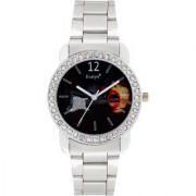 Evelyn Analogue Black Dial Girls Watches-Eve-645