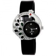KDS Women Fancy Black Designer Casual Analog Girls And Ladies Watches