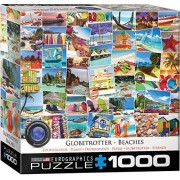 EuroGraphics Beaches Globetrotter Puzzle (1000 Piezas), diseño de casita