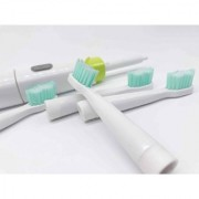 Electric Toothbrush By House of Quirk Family Power Toothbrush with 4 Brushing Modes and 4 Soft Replacement Heads
