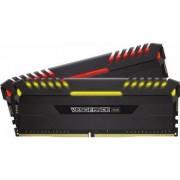 Kit Memorie Corsair Vengeance RGB LED 2x8GB DDR4 3000MHz C15 Dual Channel