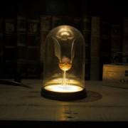 lampara en domo Golden Snitch de Harry Potter USB Original