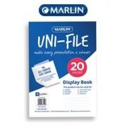 Marlin Uni-File Flip File 20 Page, Retail