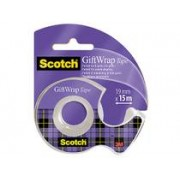 Tejp Scotch Giftwrap Inkl. Dispenser 19mmx15m