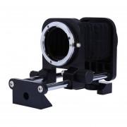 Macro De La Cámara De Fuelle Camera Macro Bellows Para Nikon