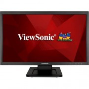 "ViewSonic - 21.5"" LED FHD Touch-Screen Monitor (DVI, VGA) - Black"