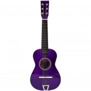 Simulación de guitarra de juguete 360DSC - Triangulación púrpura