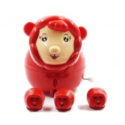 Kolossalz Cute Red Sheep Baby Toys    Toy for Kids    B' Day Gift for Kids