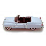 Welly 1953 Cadillac Eldorado Convertible, White - 22414 1/24 Scale Diecast Model Toy Car