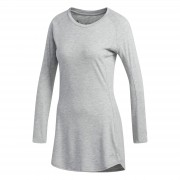 adidas Women's Supernova Pure Long Sleeved Running Top - Grey - XS - Grey