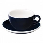 "Loveramics Cappuccino cup with a saucer Loveramics ""Egg Denim"", 200 ml"