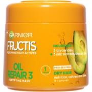 Garnier Fructis Oil Repair 3 stärkende Maske für trockenes und beschädigtes Haar 300 ml