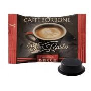 Borbone 50 Caffè Borbone Rossa Don Carlo Capsule Compatibili Lavazza A Modo Mio