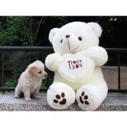 90 CM Big I Love You Teddy Bear (White)