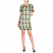Blumarine Vestito abito donna corto miniabito manica corta