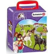 Schleich Horse Club gyűjtői bőrönd lovak számára