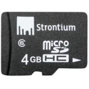 Strontium 4 GB MicroSD Card Class 6 24 MB/s Memory Card